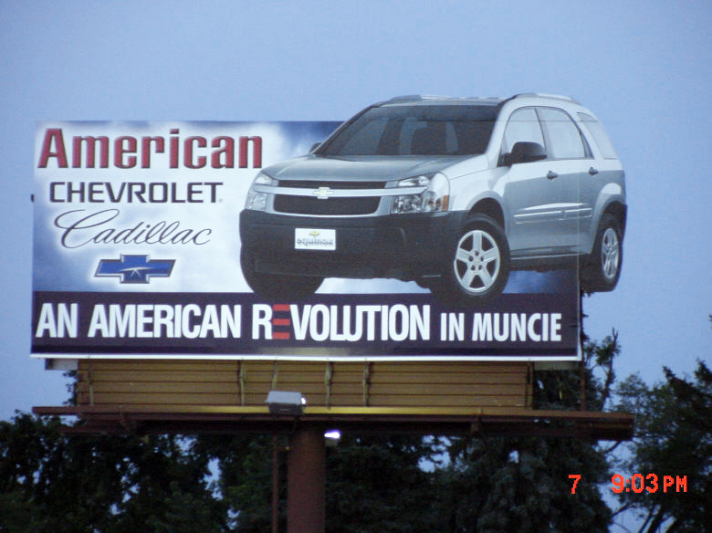Billboard With Extension