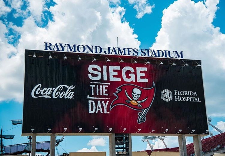 Branding Raymond James Stadium Led Board Oai Inc