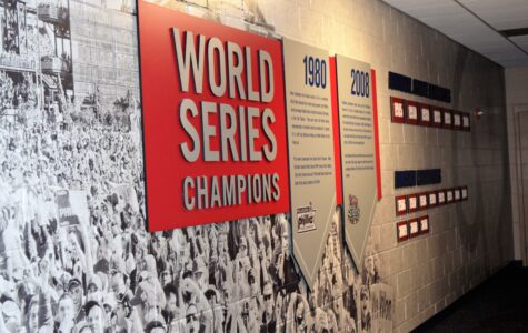Championship Wall with Brushed Aluminum Display