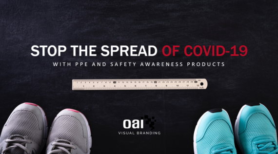 Stop the Spread of COVID Message