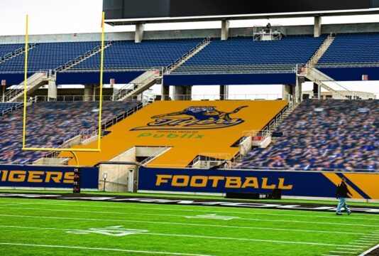 Mockup Stadium Seat Cover