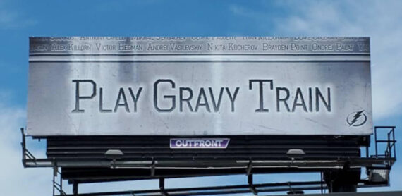 Play Gravy Train Billboard