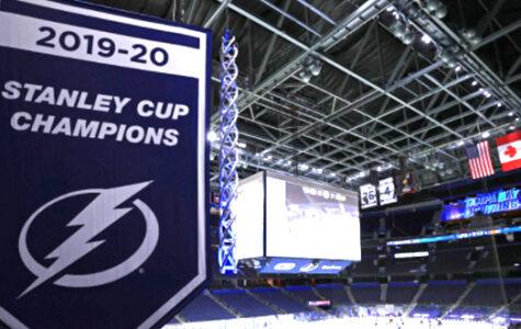 Lightning Stanley Cup Banner 2020